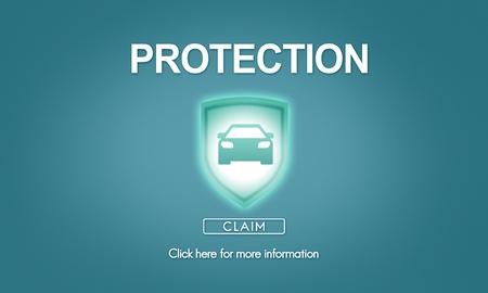 private: Protection Privacy Policy Private Unsuenace Concept