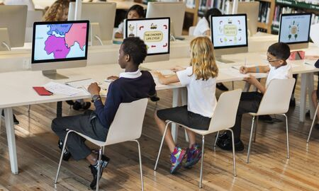 early childhood: Study Studying Learn Learning Classroom Internet Concept