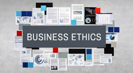 gobierno corporativo: Concepto de Responsabilidad Social Corporativa de negocios �tnicos Foto de archivo