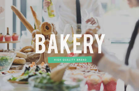 snack bar: Food Nourishment Pastry Snack Bar Eat Concept Stock Photo