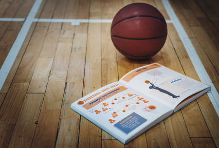 footwork: Basketball Basic Skills Athlete Direction Book Concept