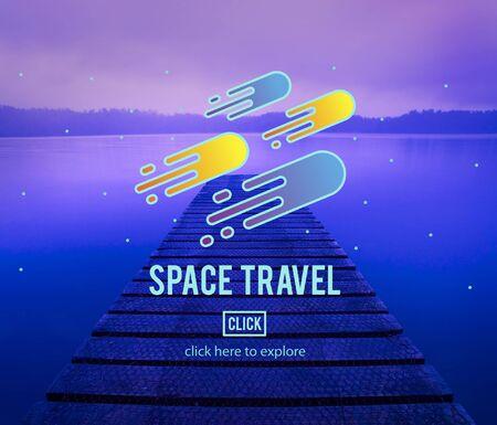 exploration: Space Travel Astronomy Exploration Concept