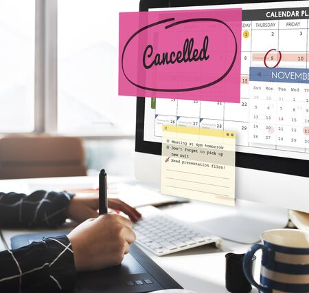 appointment: Cancelled Appointment Planner Ignore Concept