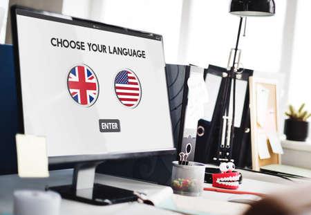 language dictionary: Language Dictionary English American Concept