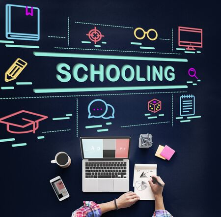 schooling: Schooling College Educational Knowledge Learn Concept