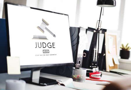 fairness: Judge Justice Judgement Legal Fairness Law Gavel Concept