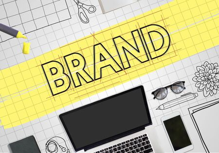 draft: Brand Copyright Name Draft Graphic Concept