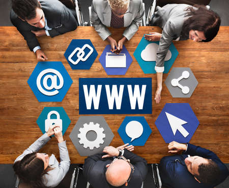 www: Technology Www Network Graphics Concept