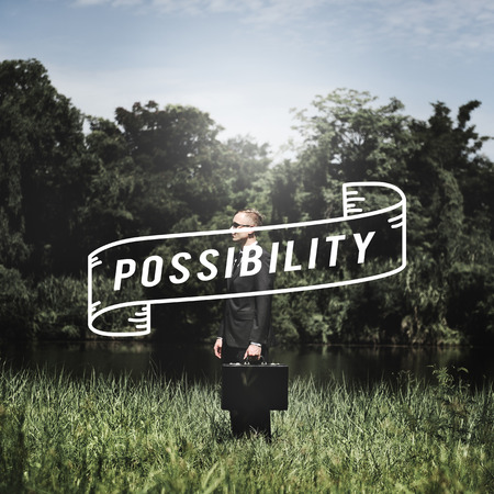 possibility: Possibility Chance Achievable Hope Option Concept