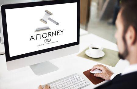 defendant: Attorney Balance Court Document Judge Lawyer Concept