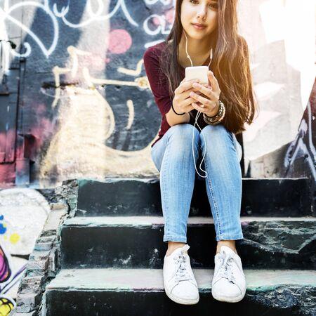 sprayed: Graffiti Sprayed Lifestyle Protrait Pursuit Private Concept