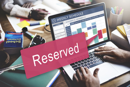seating: Reserved Private Restaurant Seating Service Setting Concept