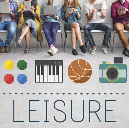 freetime: Leisure Entertainment Hobby Activity Free-time Concept Stock Photo