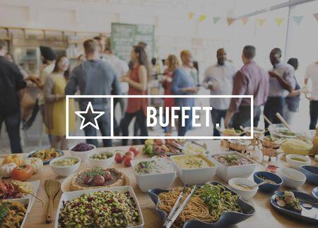 kulinarne: Bufet Katering kuchnia kulinarne koncepcji jedzenia