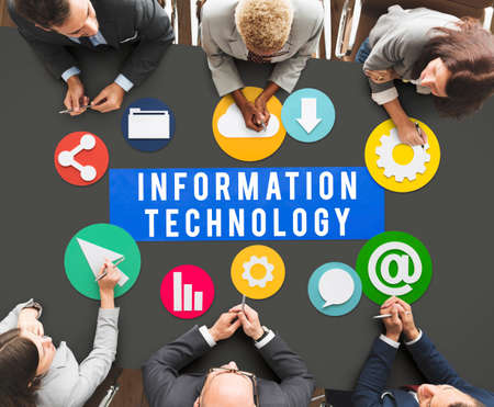 net meeting: Information Technology Online Connect Network Concept