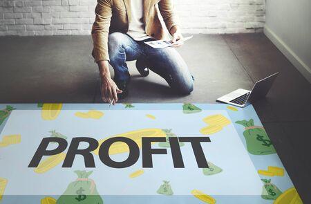 affluent: Finance Economics Access Affluent Investment Concept Stock Photo