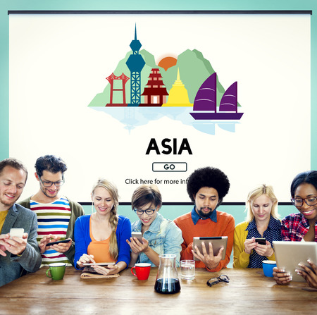 exploration: Asia Country Travelling Exploration City Concept