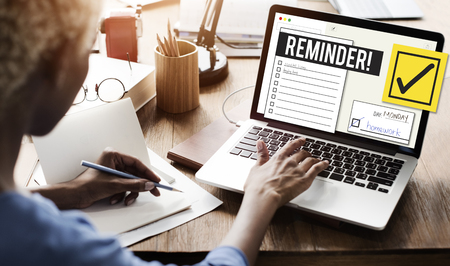 To Do List Time Management Reminder Prioriteit Concept Stockfoto