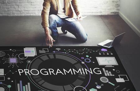 Programmation Digital Concept Computer Software médias Programme