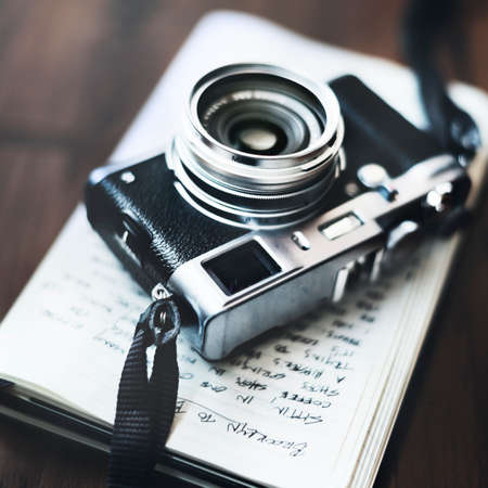old photo: Photo Camera Old Photography Hobby Concept