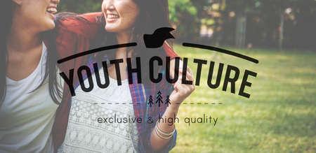 adolescence: Adolescencia Generación Cultura juvenil Estilo de Vida Foto de archivo