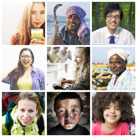 Diverse etnische diversiteit etniciteit Gemeenschap Concept