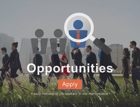chance: Opportunity Chance Choice Decision Occasion Opportunities Concept