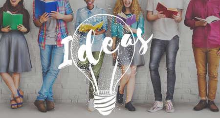 studens: Idea Brainstorm Creative Planning Success Concept Stock Photo