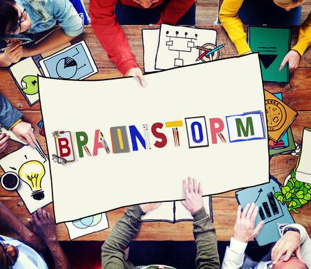 brainstorm: Brainstorm Planning Thinking Analysis Sharing Concept