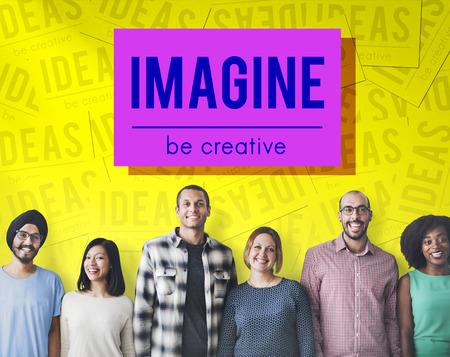 skills diversity: Brand Conceptualize Design Style Inspiration Concept Stock Photo