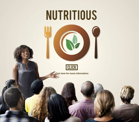 intern: Nutritious Healthy Natural Food Lifestyle Concept Stock Photo