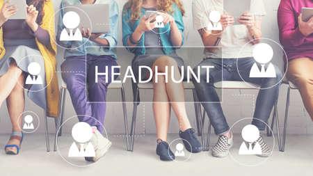 skills diversity: Recruitment Hiring Career job Emplyment Concept