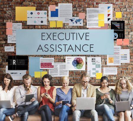 executive assistant: Executive Assistance Assistant Corporate Occupation Concept