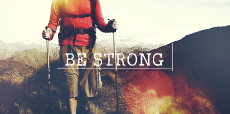 empowerment: Be Strong Empowerment Strength Powerful Fearless Concept