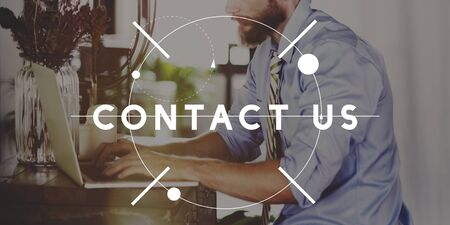 enquiry: Contact Us Customer Service Enquiry Support Assistance Concept