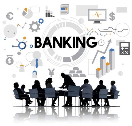 fund: Banking Finance Economy Currency Fund Money Concept Stock Photo