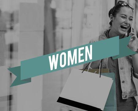 consumer rights: Women Woman Female Feminism Lady Madam Concept