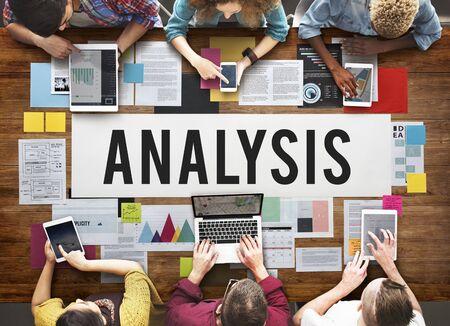 reseach: Analysis Analytics Analyze Data Information Concept