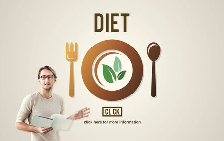 loss leader: Diet Health Nutrition Life Food Eating Concept