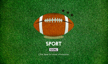 touchdown: Football Touchdown Sport Graphics Concept