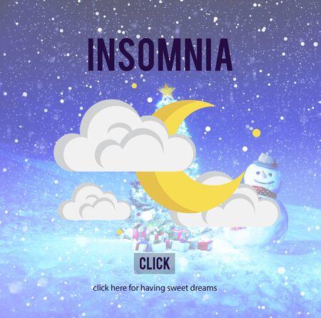 Insomnia Hangover Bad Dreams Depression Cocnept