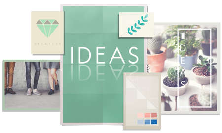 Ideas Concept Mission Proposal Strategy Vision Concept Stock Photo