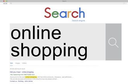 buying: Online Shopping Commercial Buying Retail Concept
