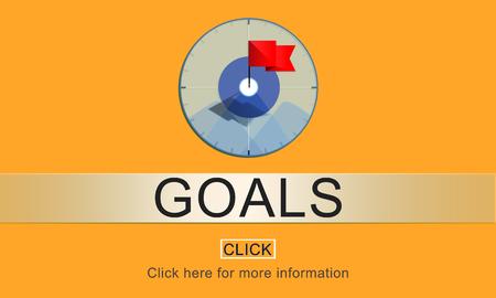 hopeful: Goal Inspiration Achievement Aspiration Concept
