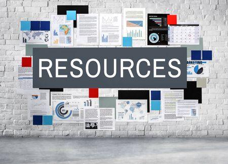 manpower: Resources Manpower Workforce Hiring Concept Stock Photo