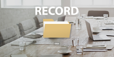 infomation: Record Confidential Privacy Infomation Data Concept Stock Photo