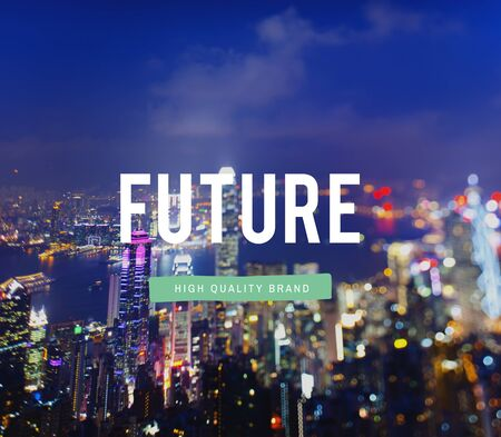 hereafter: Future Approaching Imagine Innovation Futuristic Concept