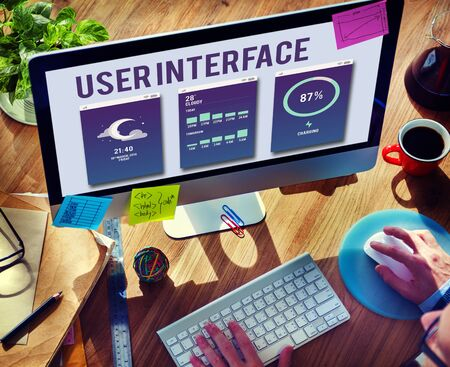 operating system: User Interface Operating System Electronic Technology Concept