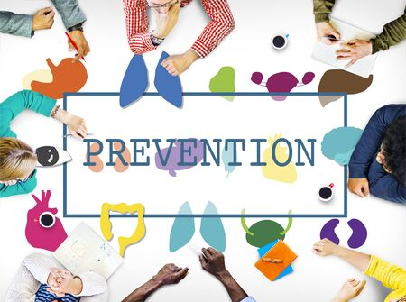 disease patients: Healthcare Treatment Prevention Medical  Checkup Concept Stock Photo