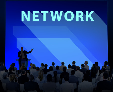 diversity domain: Network Internet Networking Online  Connection Concept Stock Photo